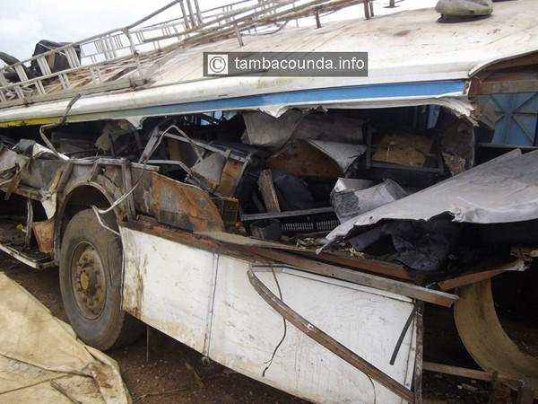 Liaison Tambacounda-Dakar: Grave Accident du bus Car Mouride à Mbour avec un premier Bilan de 5 morts dont une femme et son bébé