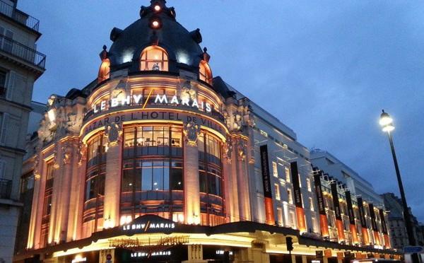 Les grands magasins parisiens, quelle histoire!