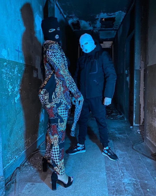 "EDEN's Instagram photo: ""#SALMUSIC dans le Building... S/O @bambinaofficiel 🔥 @labelsalmusic 📸 : @kerjoprod 🔥 #Bambina #rapmusic #shooting #Paris #Music…"""