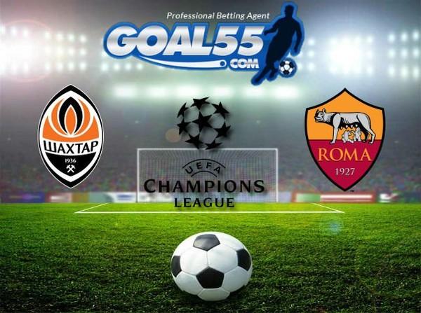 Prediksi Skor Shakhtar Donetsk VS Roma 22 Februari 2018