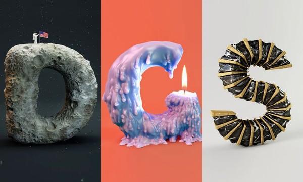 Des infographistes revisitent l'alphabet d'une façon complètement déjantée