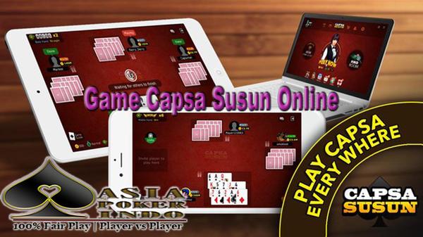 Game Capsa Susun Online Berhadiah Uang Asli