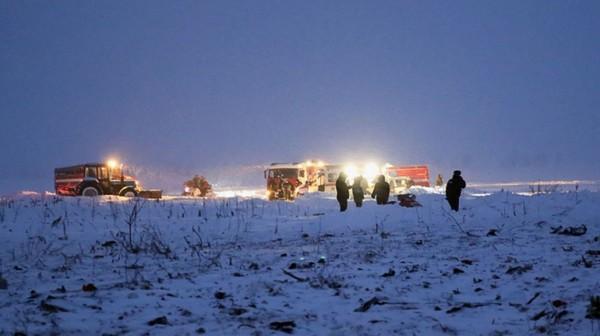 Le crash d'un avion de ligne près de Moscou fait 71 morts
