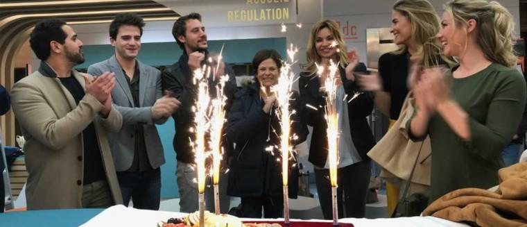 Demain nous appartient (TF1) : les acteurs fêtent le 100e épisode (VIDEO)