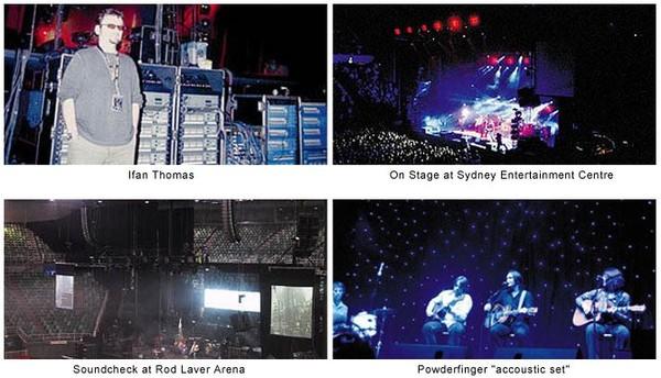 Powderfinger On Tour with Geo T- Group Technologies Australia - News