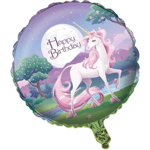 Ballon mylar licorne féerique pour l'anniversaire de votre enfant - Annikids