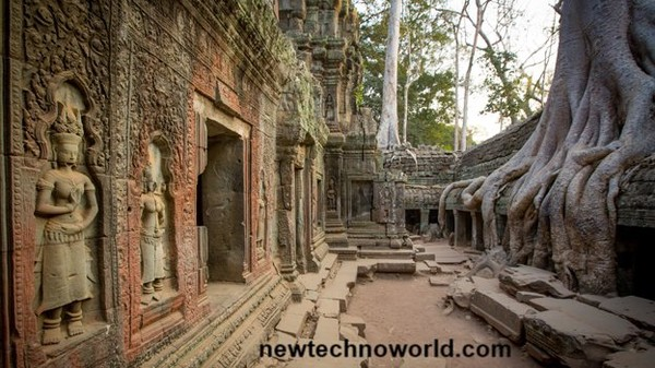 Beyond Angkor laser device treatment exposed a missing city world news