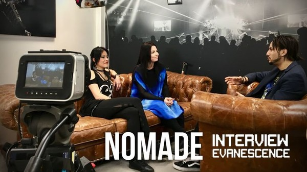 Nomade Interview: Evanescence - 17/04/2018