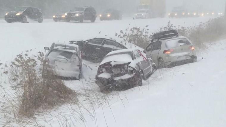 Chaos sur les routes de la province