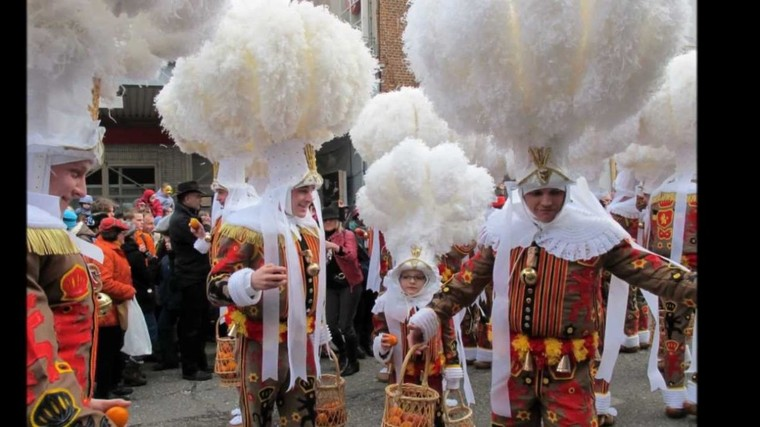 Aujourd'hui, c'est le célèbre Mardi Gras. Pour de nombreux Binchois, c'est la meilleure journée de l'année. - LNO