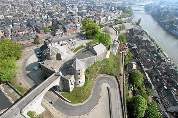 Namur: le centre du visiteur de la Citadelle inauguré en été 2015