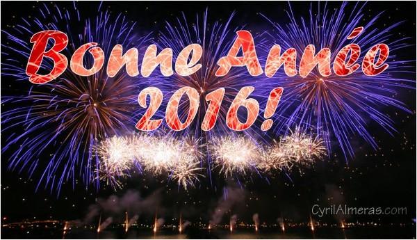 Cartes bonne annee 2016