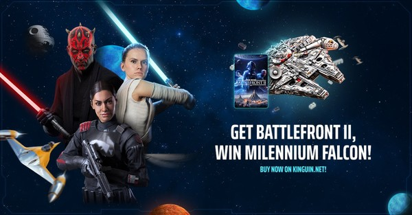 Star Wars Battlefront 2 Buy on Kinguin!