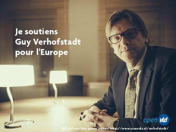 Last Night in Orient soutient Guy Verhofstadt pour l'Europe - Last night in Orient