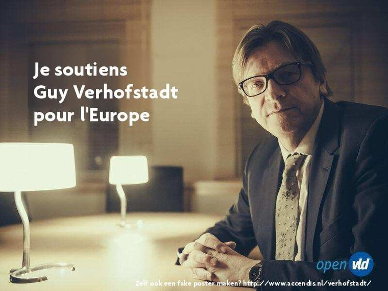 Last Night in Orient soutient Guy Verhofstadt pour l'Europe - Last night in Orient