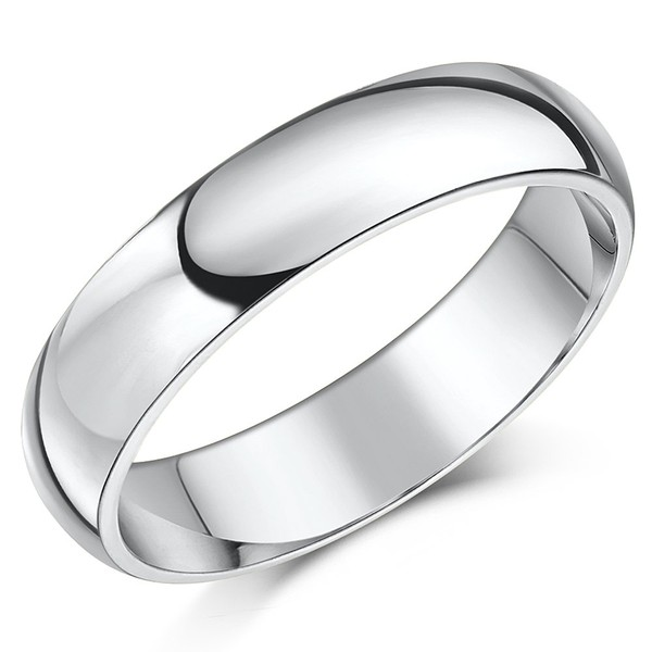 Platinum Rings and Wedding Bands: Classic Platinum Plain Engagement Rings All Shapes