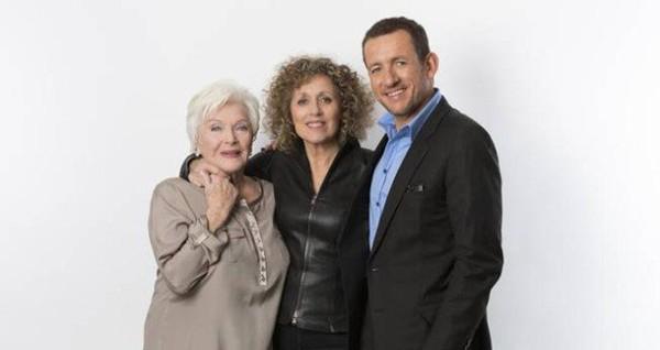 Signé Mireille Dumas, 'Line Renaud et Dany Boon. La Fierté des Cht'is'.