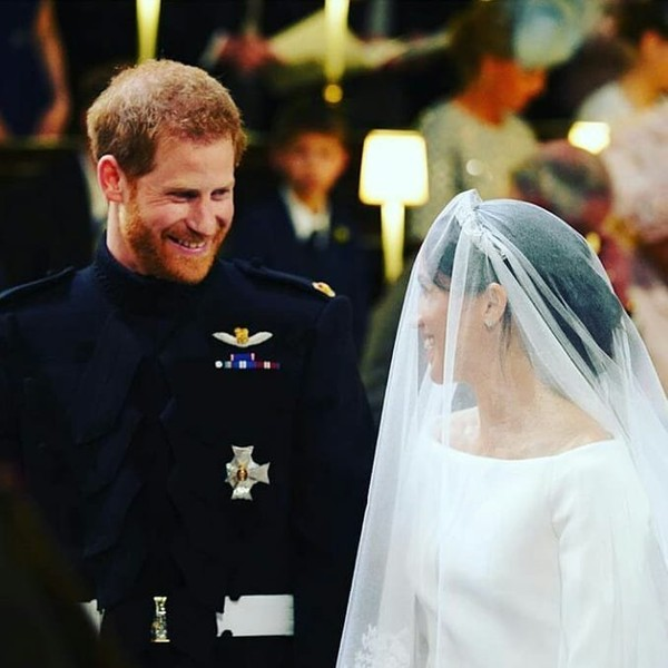 """HRH The Duchess Of Cambridge on Instagram: """"They have exchanged their vows ! They are now husband and wife ! Who's watching the wedding in live ?"""""""