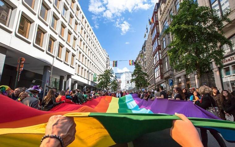 Belgian Pride 2018 : ambiance aux couleurs de l'arc-en-ciel - LNO