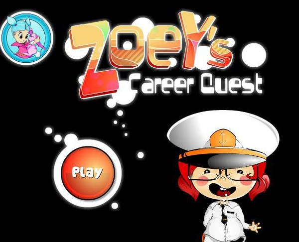 Toon Games - Play Zoey Career Quest game online at OnlyToonGames.Com