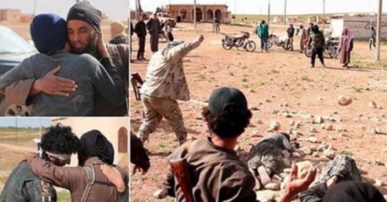 L'horreur: des djihadistes embrassent deux homosexuels avant de les lapider
