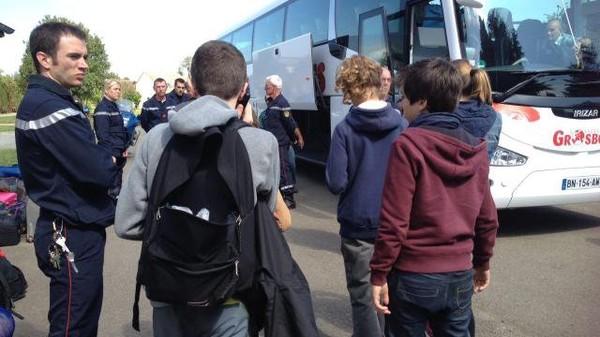 Accident de car scolaire en Sarthe. Tous les enfants rentrent chez eux