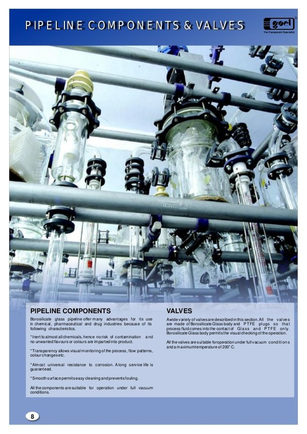 Pipe line Component & Valves