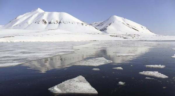 Le Pôle Nord connaît des températures anormalement douces comprises entre 0 et 2 degrés