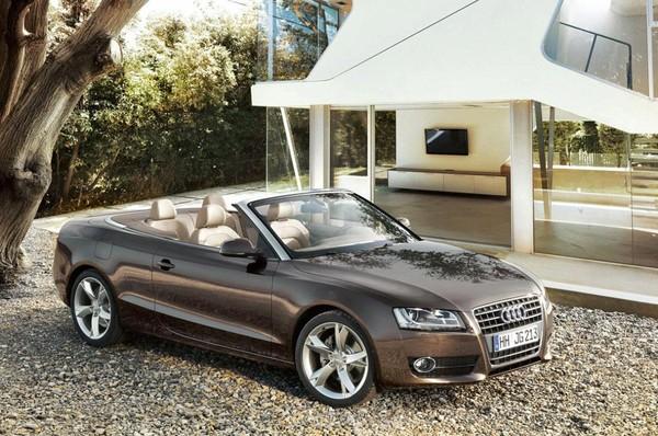 The next-generation Audi A5 cabriolet comes into focus