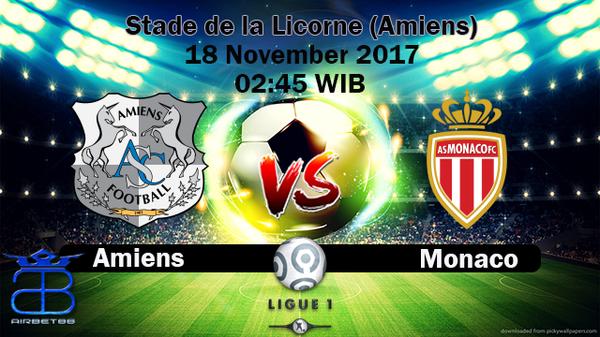 Prediksi Amiens VS Monaco 18 November 2017 | Prediksiskorbolajitu |