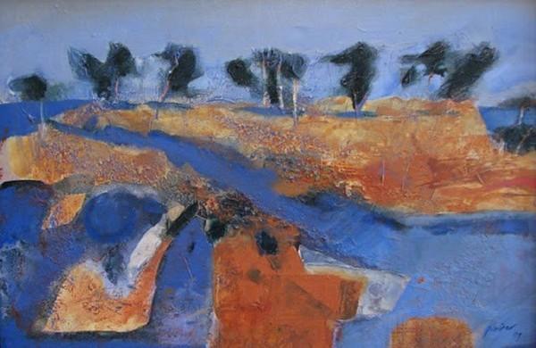 Exposition Art Blog: Robert Juniper - Australian Landscapes