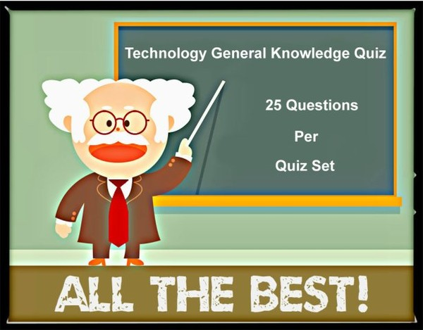 Technology GK Quiz | General Knowledge Quiz on Technology | Hindi | India