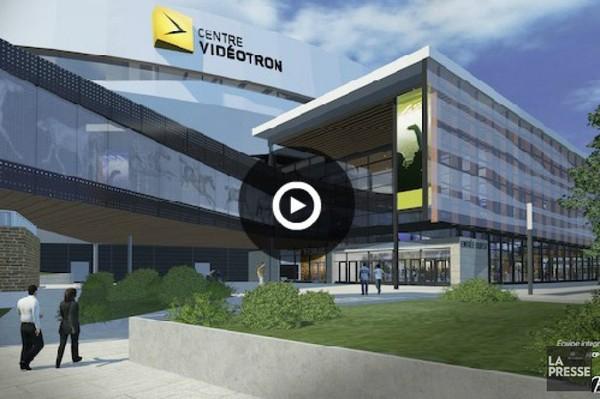 L'amphithéâtre de Québec s'appellera Centre Vidéotron | Valérie Gaudreau | Vers un nouveau colisée