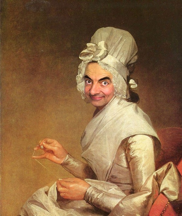 picture of mr bean which may make you feel amazing - NICE PLACE TO VISIT