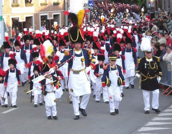 Folklore. Marche Sainte Rolende - Gerpinnes