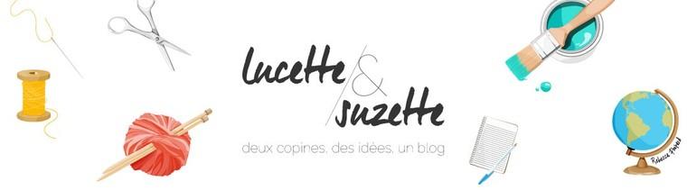 Lucette et Suzette - deux copines, des idées, un blog