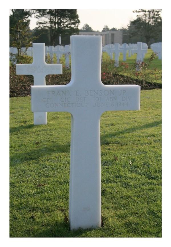 Corp Frank E Benson, Jr ( - 1944) - Find A Grave Memorial