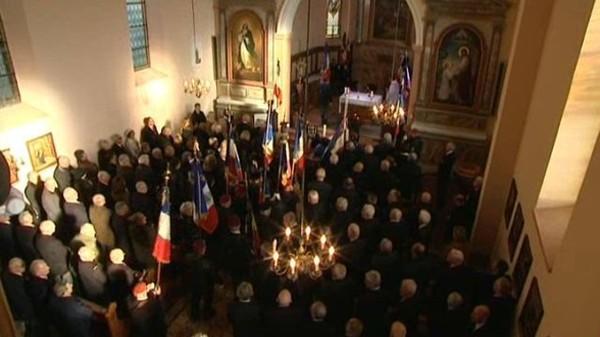 Les obsèques du général Aussaresses à La Vancelle - France 3 Alsace