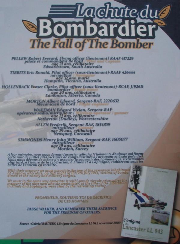 In Memoria Lancaster LL943