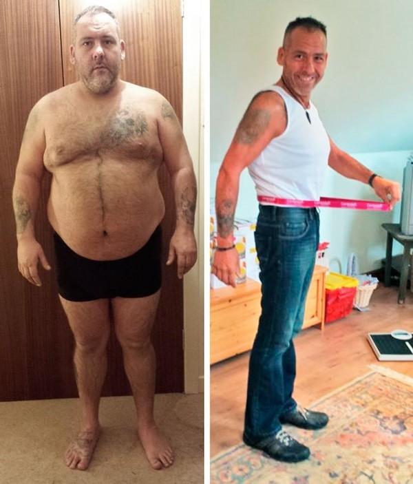 Comment j'ai perdu 40% de mon poids l'histoire d'un homme qui a perdu 57kg