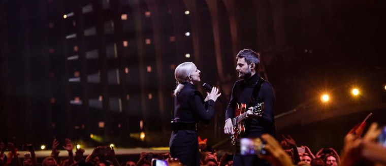 """Le duo Madame Monsieur réagit à sa 13e place à l'Eurovision : """"Les bookmakers se sont gourés !"""" - actu - Télé 2 semaines"""