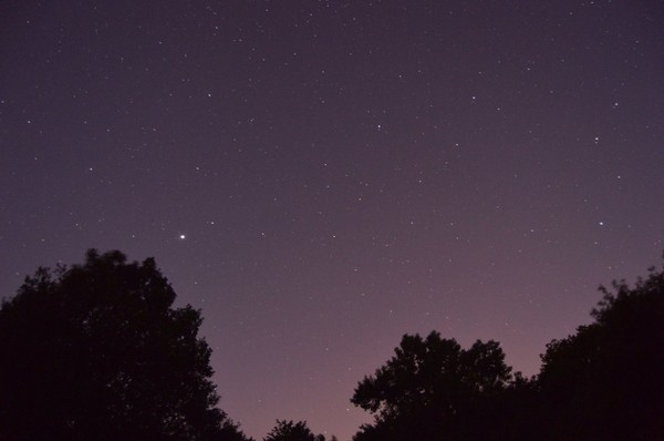 La plus brillante c'est bien Jupiter - astronomie27