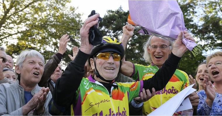 Robert Marchand prend sa retraite sportive... à 106 ans