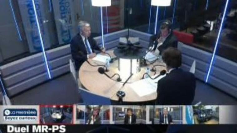"""Reynders à Di Rupo : """"Sans les libéraux, il y a eu les enlèvements d'enfants"""" - RTBF Belgique"""