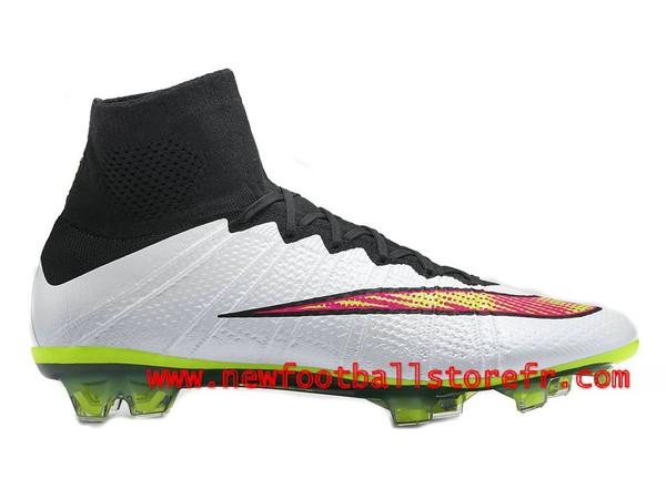 5739cd9fa6546 Nike Mercurial Superfly Chaussures Officiel NIke 2015 Firm Ground De  Football Pour Homme Blanc Color 641858 170-Boutique Chaussures De Football,  Maillot de ...