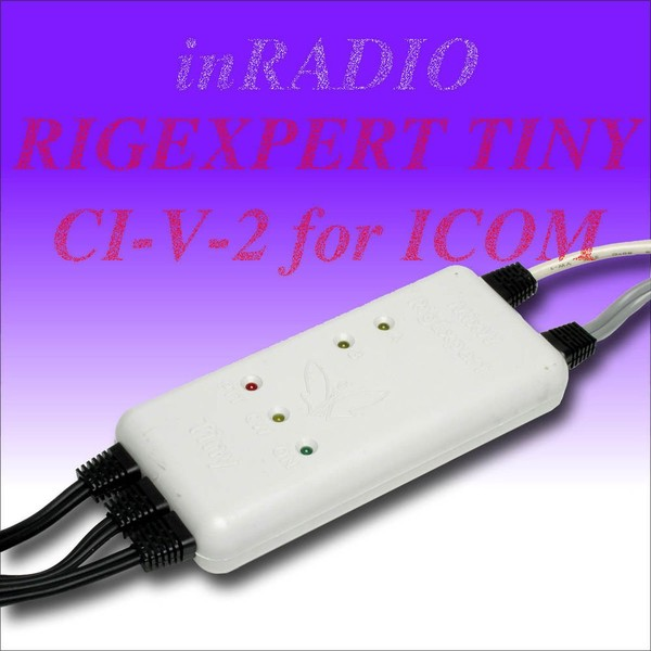 RigExpert TINY CI-V-2 - USB Transceiver Interface pour ICOM IC-910!