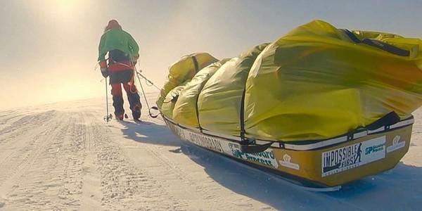 L'exploit de Colin O'Brady, un Américain qui a traversé l'Antarctique, seul et sans assistance en 54 jours