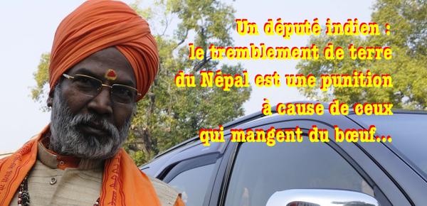 Tremblement de terre au Népal : c'est la punition pour des mangeurs de bœuf ! | L'observatoire de la Christianophobie