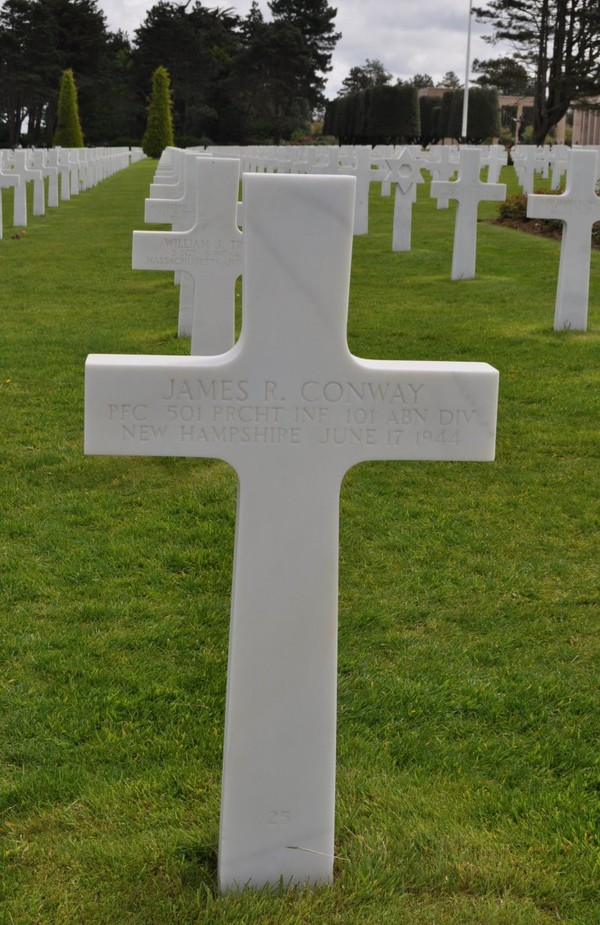 PFC James R Conway (1924 - 1944) - Find A Grave Memorial