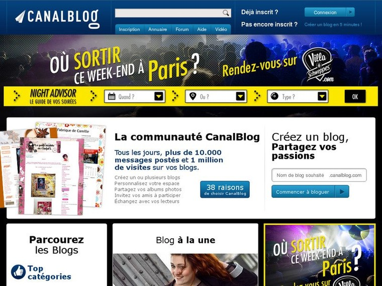 Blog photo, blog audio ou vid.. - CanalBlog | Mag90Recherche